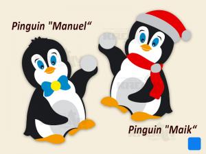 Pinguine Manuel und Maik