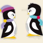 Pinguin Plitsch und Platsch